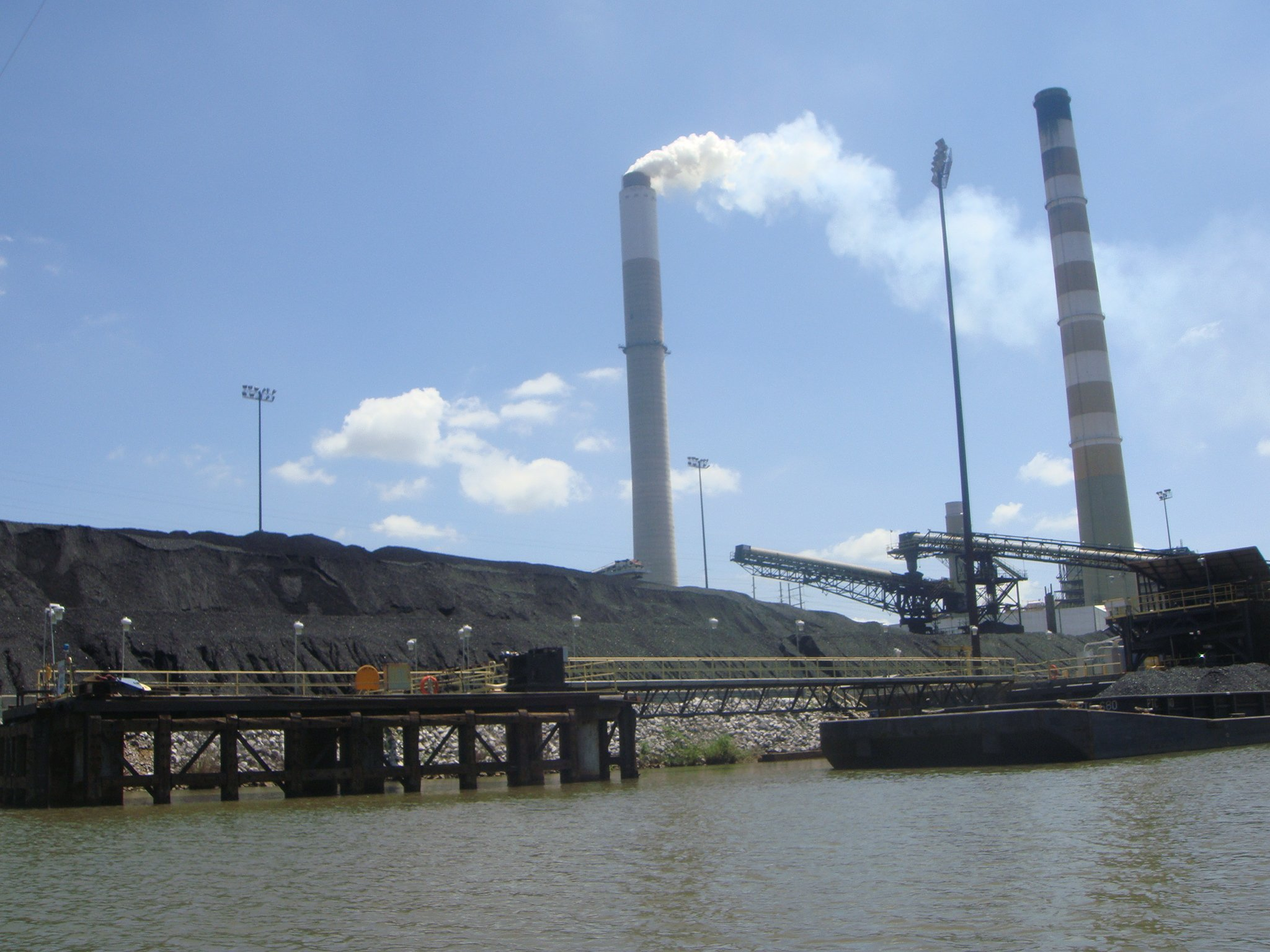 Coal and power plant