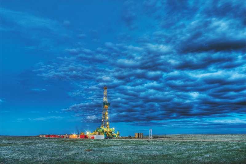 Risks to water quality may receive more attention but unconventional oil and gas development also raises concerns about air quality. Air pollution can be emitted at the well site and from truck traffic to and from the site. These risks vary widely by location. Credit: NIEHS/NIH