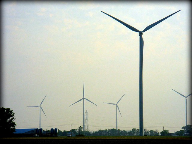 Photo of Blue Creek Wind Farm in Northwest Ohio