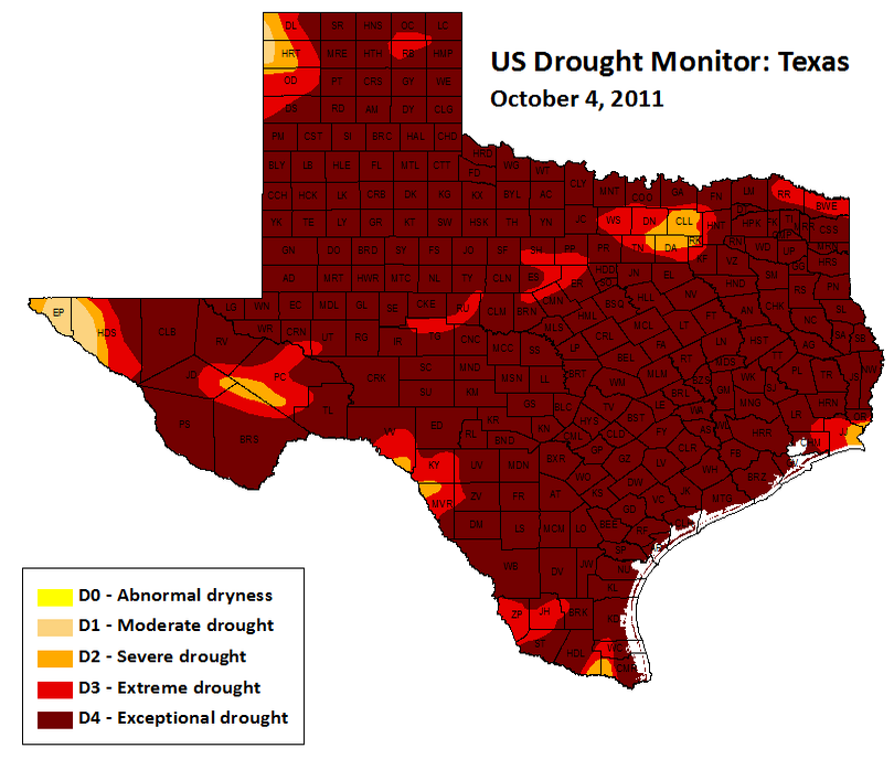 "Severe Texas Drought Exposed in ""Years of Living Dangerously"