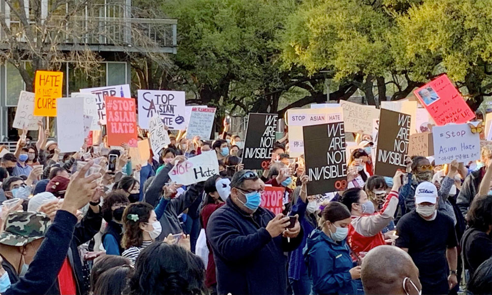 Houston Stop Asian Hate Vigil and Rally